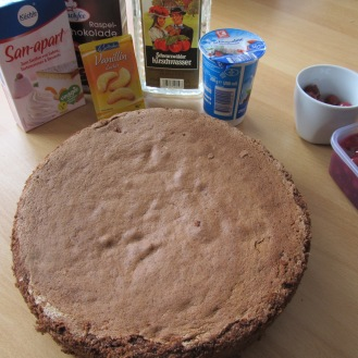 Schwarzwälder Kirschtorte in the Making