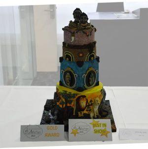 Platz 1/ Gold und Beste Torte des gesamten Wettbewerbs
