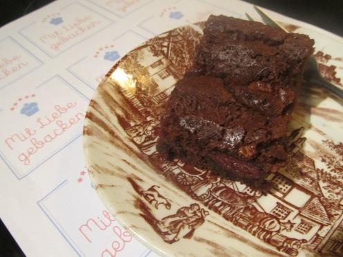 Schoko Kirsch Brownies
