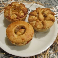 Mini American Apple Pies