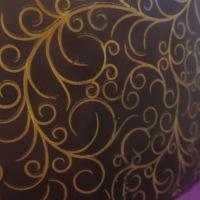 Wie macht man eigentlich so schöne Muster auf Schokolade? ...