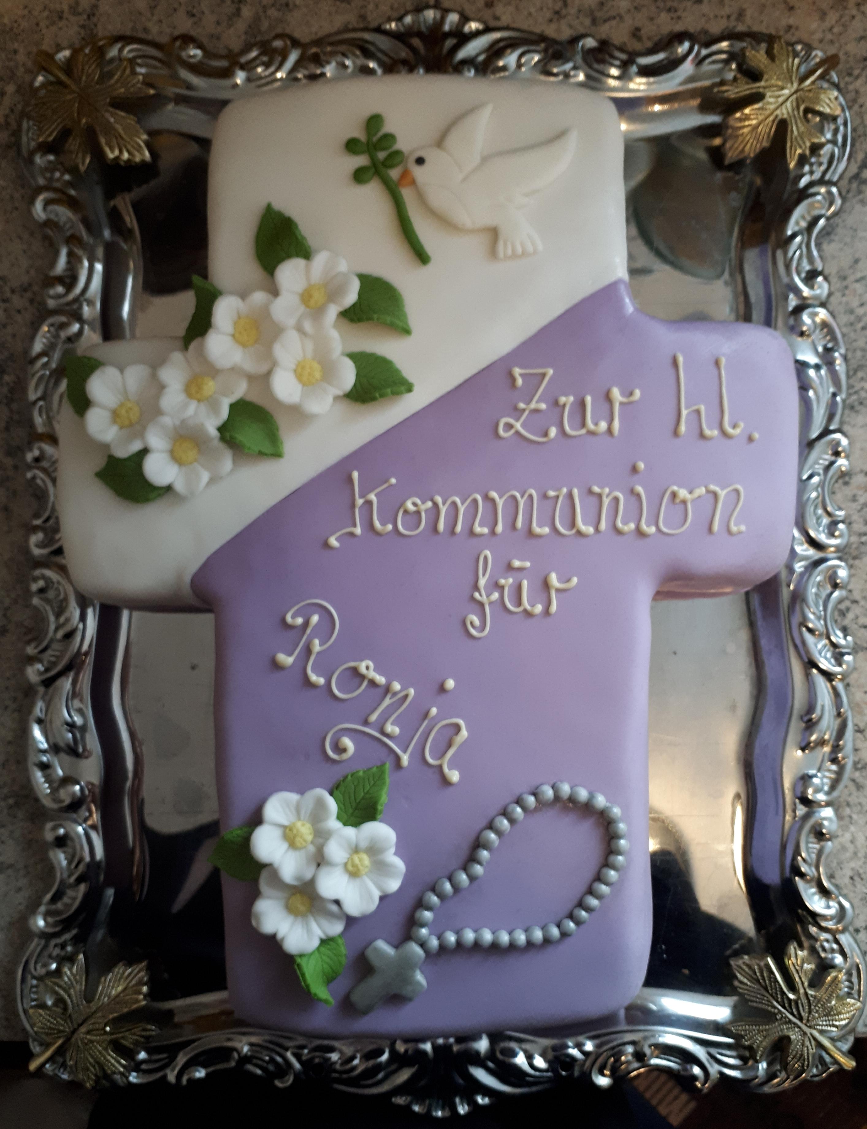 Tortenaufsatz Tortendeko Kommunion Konfirmation Tortenfigur Junge Bube