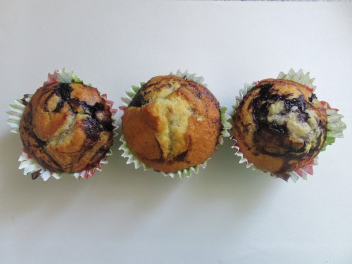 American Bluberry Muffins 1