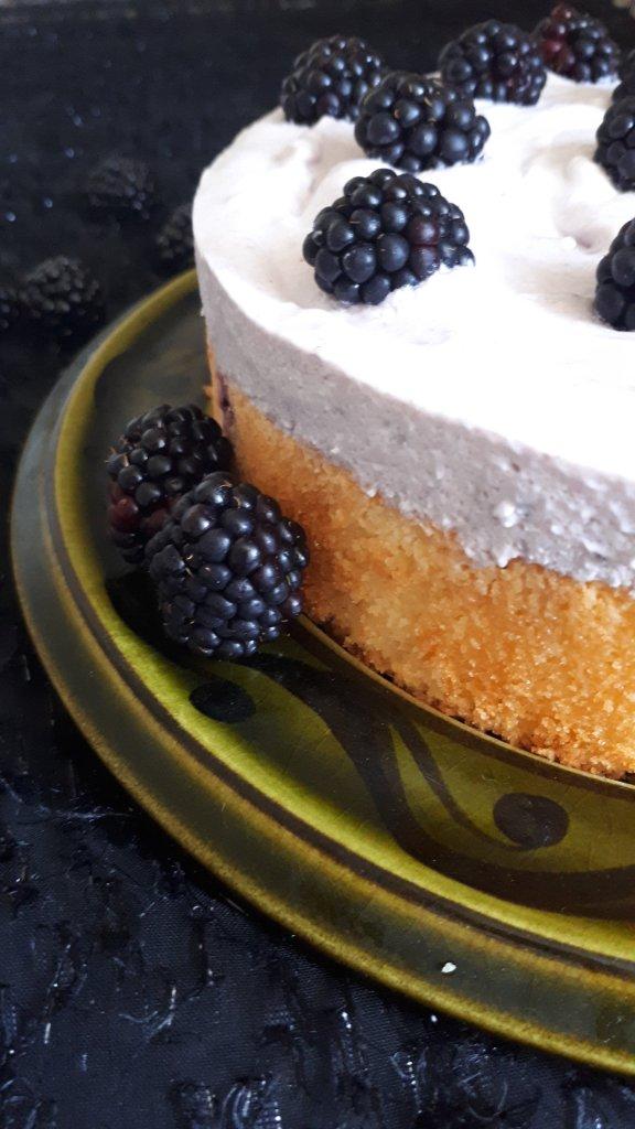 Brombeer Kuchen mit Joghurt Brombeer Sahne