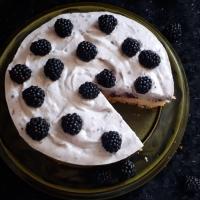 Volle Kanne Brombeeren... Brombeer Kuchen mit Brombeer Joghurt Sahne