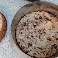 Wie macht man eigentlich einen Biskuitboden mit Schokostückchen?