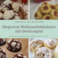 """Blogevent """"Weihnachtsbäckerei"""" mit Gewinnspiel"""